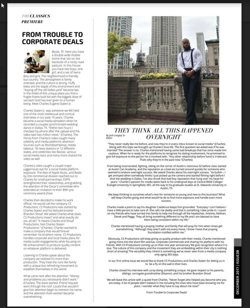Charles Article