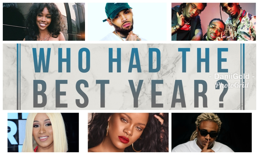 Which Artists had the bestyear?