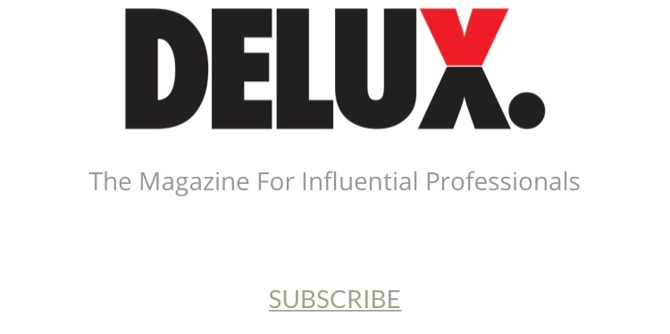 I'M A WRITER FOR DELUX MAG!