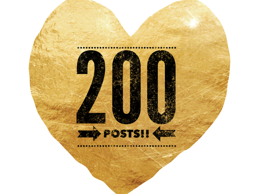 200 Posts!!